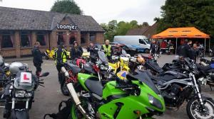 Food and drink served at this Biker Cafe