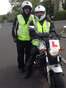 Richard came to us to re-take his CBT. He has no idea what was going to happen.